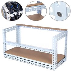 DIY Aluminum Frame Mining Rig Frame For 6 GPU Mining Crypto-currency Mining Rigs