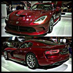 Blood Red Dodge Viper SRT!!! #dodgeviper