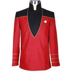 Halloween Costume Star Trek Admiral's Jacket Handmade for Adult #Handmade…