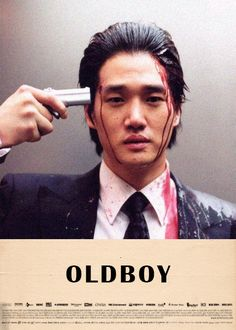 """Oldboy (2003) """"Oldeuboi"""" After being kidnapped and imprisoned for 15 years, Oh Dae-Su is released, only to find that he must find his captor in 5 days. -2003"""