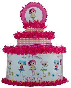World of Pinatas - Lalaloopsy Personalized Pinata, $39.99 (http://www.worldofpinatas.com/lalaloopsy-personalized-pinata/)