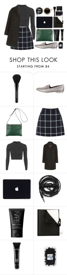 """""""Fall Style With The RealReal: Contest Entry"""" by denulina ❤ liked on Polyvore featuring MAC Cosmetics, Chanel, CÉLINE, Oasis, Topshop, Urbanears, NARS Cosmetics and Hermès"""