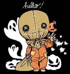 Every day is Halloween: Photo Fete Halloween, Halloween Horror, Halloween Themes, Vintage Halloween, Halloween Crafts, Horror Cartoon, Horror Films, Sam Trick R Treat, Horror Artwork