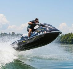 Money can't buy happiness, but it can buy you jet ski. Have you ever seen someone sad on jet ski ? Dock Bumpers, Ski Boats, Motor Boats, Jet Skies, Lake Powell, Water Toys, Fishing Equipment, Lake Life, Water Crafts