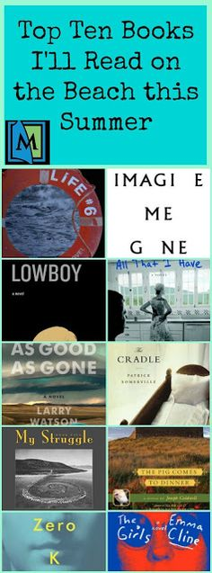 Top Ten Beach Reads by Travis. Check it out on Mentor's Reader.