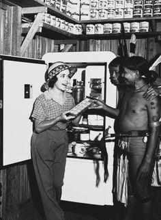 Johnson, Osa & Martin   American (active 1910s-1930s)    DESCRIPTIVE TITLE: Refrigerator   SERIES TITLE: Borneo
