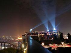 Vertigo rooftop dining Bangkok, Banyan Tree Hotel