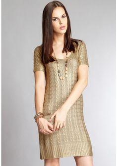 331470b4ca067 Aftershock London Lakini Dress in Gold Season Colors