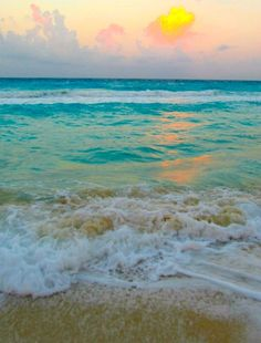 Serenity ~ The waves of the beach help me get back to me.