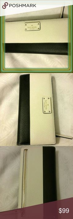 KATE SPADE LARGE STACY WALLET Totally gorgeous. NWT. kate spade Accessories