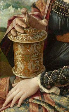 Mary Magdalene, Jan van Scorel, c. 1530, detail