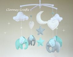 Elephant Baby Mobile Musical Elephant Baby Mobile Musical