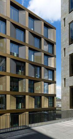David Chipperfield Architects, Stefan Müller · EUROPAALLEE 21. Freischützgasse House · Divisare