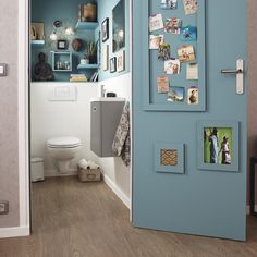 The toilet memories. Dream Bathrooms, Amazing Bathrooms, Small Bathroom, Interior Decorating, Interior Design, Creative Home, Interior Inspiration, Small Spaces, Sweet Home