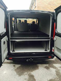 Vauxhall Vivaro Sportive Surf/Camper Van
