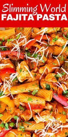 One Pot Chicken, One Pot Pasta, Yum Yum Chicken, Pasta Meals, Chicken Pasta Recipes, Slimming World Chicken Casserole, Crab Pasta, Fajita Seasoning