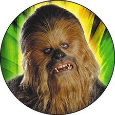 Star Wars Chew Bacca Button B-SW-0054