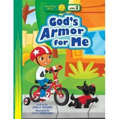 A good book to intro each piece of the armor: God's Armor for Me (Happy Day Books: Level 2)