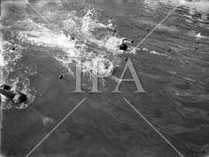 1958 - Swimming Championships at Blackrock History Photos, Photo Archive, More Photos, Ireland, Irish, Swimming, Fine Art, Film, Gallery