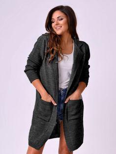 Dámsky kardigán MERYL čierny Sweaters, Fashion, Moda, Fashion Styles, Sweater, Fashion Illustrations, Sweatshirts, Pullover Sweaters, Pullover