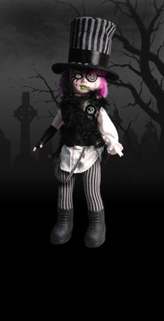 Sybil as The Mad Hatter