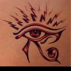 Eye Of Horus Tattoo Design Egyptian Eye, Ancient Egyptian Art, Egyptian Goddess, Egyptian Mythology, Ancient History, Art History, Horus Tattoo, Dallas Tattoo, Tattoo Fonts Alphabet