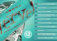 REMIX! Cheaper than Monster & RedBull - and Good For You!! Win Win!!  www.drinkvervegethealthy.com