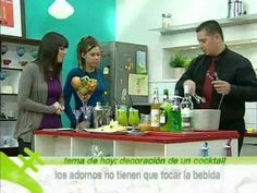 Stick Cocktails enseña a la audiencia de Antena.Nova a decorar un cocktail (2 de 2) - YouTube