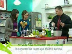 Stick Cocktails enseña a la audiencia de Antena.Nova a decorar un cocktail (2 de 2) - YouTube