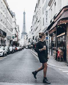 "Jacqueline Mikuta on Instagram: ""Street  Pretty pretty city! http://liketk.it/2pvW3 @liketoknow.it #liketkit #paris #mikutatravels"""