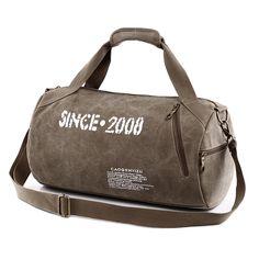 b82a4e86d80 2017 Men s Sport Canvas Handbag Training Gym Handbag Man Fitness Bag  Durable Multifunction Handbag Outdoor Sporting