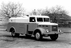 Csepel Heavy base chassis version of the Produced in 1950 - Succeeded by the Old Trucks, Eastern Europe, Old Cars, Cars And Motorcycles, Antique Cars, Transportation, Vehicles, Hungary, Vintage