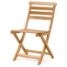 An oak bistro chair is the perfect piece to pull out when you need extra seating for guests.   $143