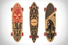 Cruising down the boardwalk and you spot a custom carved skatedeck, chances are its from STRGHT Skateboards. These evolved boards aren't just another piece Long Boarding, Skate Surf, Snowboards, Skateboard Decks, Skateboards, Surfing, Hipster, Crafty, Lifestyle