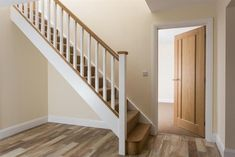 Image result for white and oak staircase
