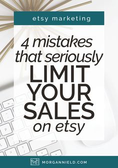 Since starting my Etsy shop, I've tried TONS of different strategies to drive more traffic and make more sales. Some have been CRAZY successes. You know-- the kind you can repeat over and over again and see crazy-amazing results every single time. But had I known which strategies to avoid?
