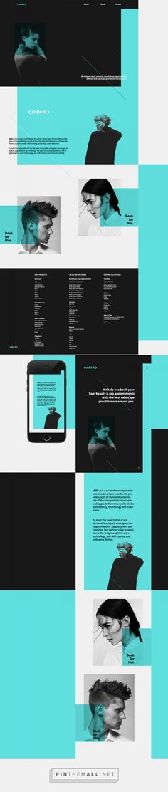 Stdio.h Salon Web Design by Utkarsh Raut | Fivestar Branding Agency – Design and Branding Agency & Curated Inspiration Gallery http://amzn.to/2t2peSa