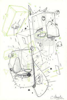 """""""BORDEL"""" serie #02 by Monsta, via Behance"""