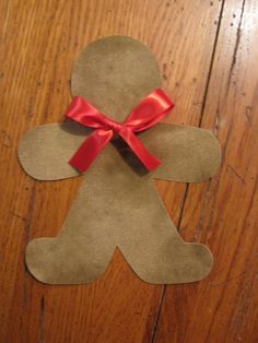 Gingerbread Iron On Applique You Choose Fabric by EllaBaDellas