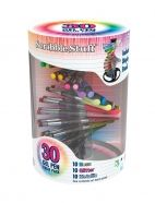 30 Gel Pens and Stand