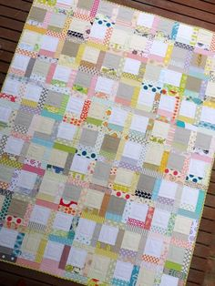 Tiffany Quilt-by Red Pepper Quilts  Adorable!