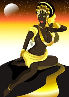 Estrela de Oxum by Oradine
