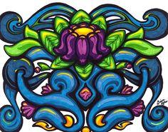 Flower Doodle No. 15 by Nissa Askew