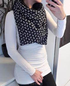 Lilexxleli: Tutorial XXL-Schal für Damen - Anleitung