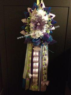 East Texas Homecoming mums & garters, baby wreaths, & more www.mumstheworddesigns.com