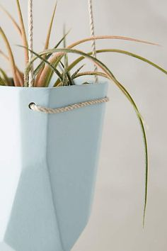 Crystal-Cut Hanging Planter - anthropologie.com #anthropologie #AnthroFave