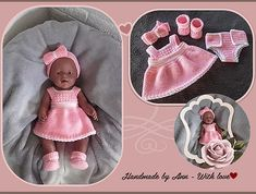 Your place to buy and sell all things handmade Baby Pop, Barbie Dolls, Free Crochet, Baby Gifts, Doll Clothes, Free Pattern, Baby Shoes, Crochet Patterns, Buy And Sell