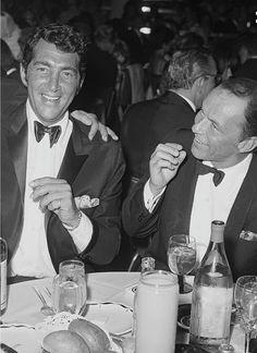 Dean Martin and Frank Sinatra 1961 Coconut Grove