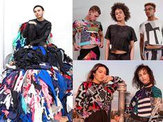 Zero Waste, Fashion Bubbles, Ethical Fashion, Sustainable Fashion, Diy Clothes, Ideias Fashion, Kimono Top, Women's Blazers, Hoodies