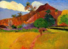 Tahití, Polinesia Francesa - Paul Gauiguin